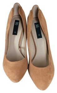 Mango Pump Suede Pumps