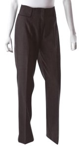 Alberta Ferretti Straight Pants Charcoal