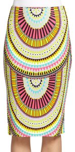 Mara Hoffman Tropical Bright Geometric Print Skirt Multi-Colored