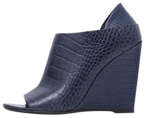 Alexander Wang Dark Blue Wedges