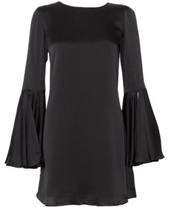 Elizabeth and James Mini Bell Sleeves Silk Dress
