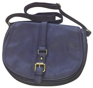 Merona Blue Indigo Messenger Cross Body Bag