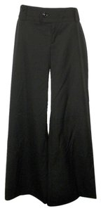 Banana Republic Wide Leg Trousers Polyester Wide Leg Pants