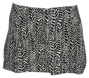 Express Print Polyester Animal Print Shorts