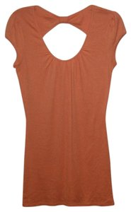 Express Open Back T Shirt Orange