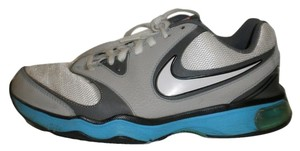 Nike Gray White Sneakers Turquoise Athletic