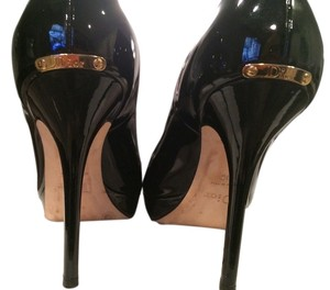 Dior Miss Patent Leather High Heels black Pumps