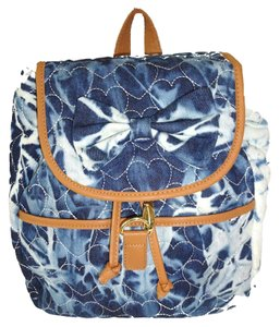 Betsey Johnson Tie Dyed Denim Backpack