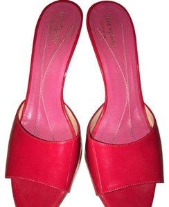 Kate Spade Red Mules