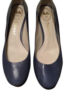 Delman Blue Pumps
