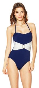 Spanx SPANX Style 1346 Whittle Waistline Belted Bandeau Swimsuit