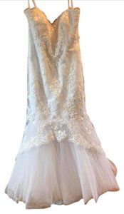House of Wu White Lace 18922 Feminine Wedding Dress Size 18 (XL, Plus 0x)
