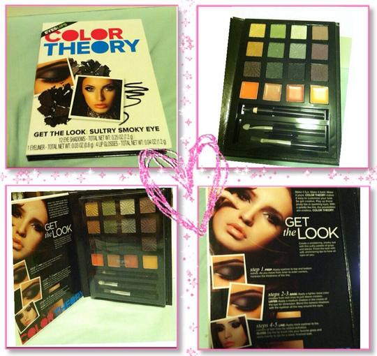 color theory brand Get The Look Of Smoky Eyes Eye Shadow