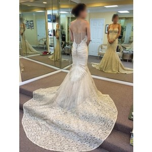 Inbal Dror Inbal Dror 14-10 Champagne Ivory Wedding Dress
