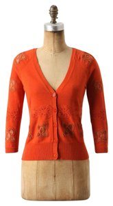 Anthropologie Knitted & Knotted Textured Cardigan