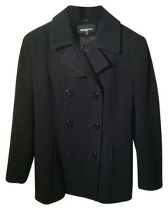 Jones New York Pea Winter Wear Wool Wool Pea Coat