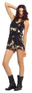 Lip Service House Of Widow Tie Dye Tye Dye Black Ties Shorts Xl Large Widow Dress