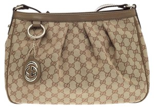 Gucci Sukey Crossbody Momogram Shoulder Bag