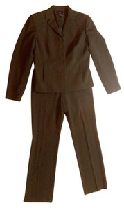 Ann Taylor Ann Taylor Pants Suit Blazer Jacket Size 6 Brown Set P2077