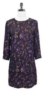 See by Chlo short dress Purple Floral on Tradesy