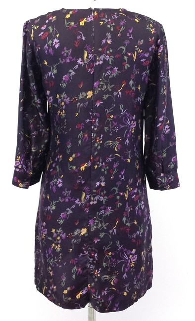 See by Chloé short dress Purple Floral on Tradesy