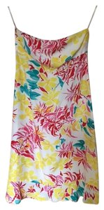 Tocca short dress multi colored Strapless Floral Size 6 on Tradesy