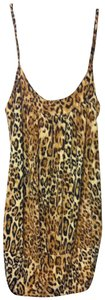 Wet Seal Top Leopard Print