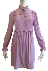 Love Moschino short dress Purple Lilac Silk on Tradesy