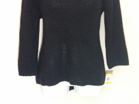 62ac0eb0 70%OFF Style & Co Black Knitted Scoop Neck Knit Medium #3663 Top ...