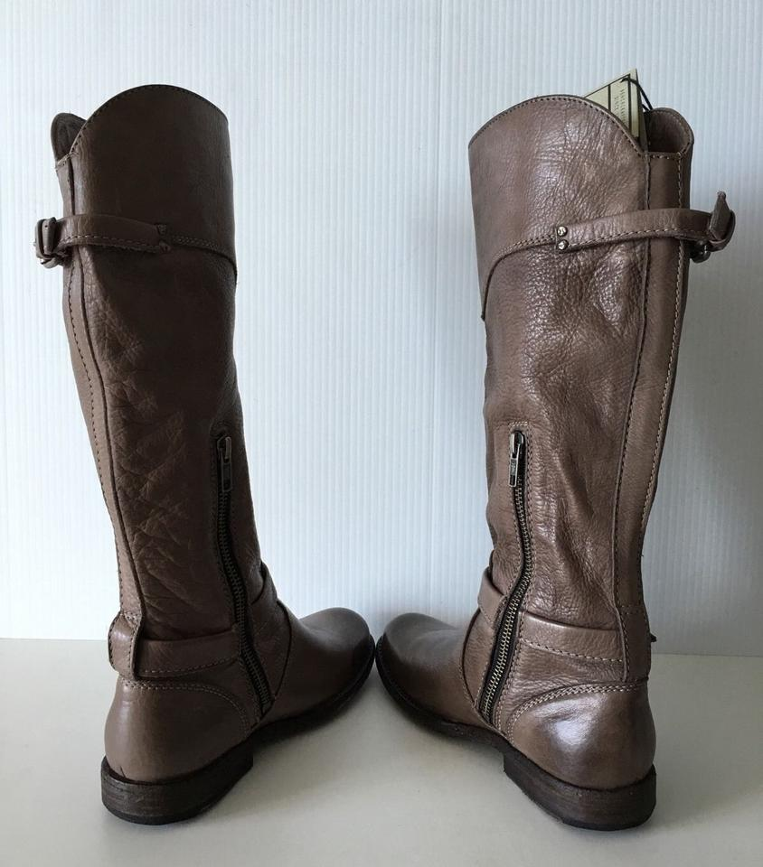 Leather Buckle Gray Riding Boots Booties Phillip Tall Frye wFtdxIEqE
