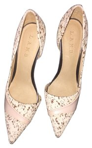 L.A.M.B. Nude Pumps