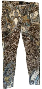 Marciano Skinny Pants Leopard print with paisley