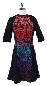 Missoni short dress Black & Multi-Colored Brocade on Tradesy
