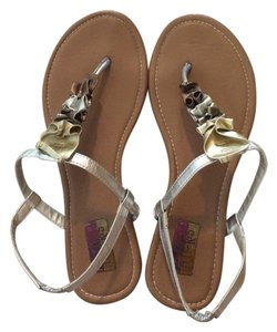 HotCakes Metallic (silver, gold, copper) Sandals
