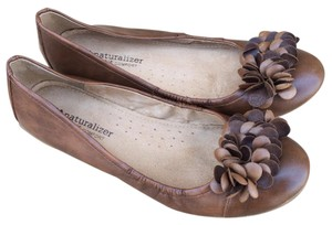 Naturalizer N5 Comfort Ballet Brown Flats