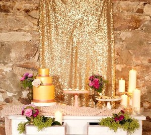 Sequin 8ft H X 52