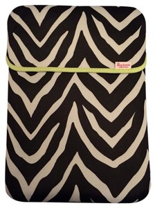 """Macbeth Collection The Macbeth Collection 15.6"""" Laptop Sleeve; REVERSIBLE Zebra/Orchid Paradise"""