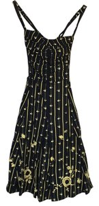 Black and yellow Maxi Dress by Anthropologie