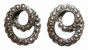 Avon Like new AVON Vintage Silver Marcasite Swirl Design Earrings