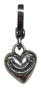 Juicy Couture Solid Silver Heart Charm
