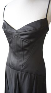 BCBGMAXAZRIA Corset Silk Dress