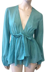 Laundry by Shelli Segal Top Light blue