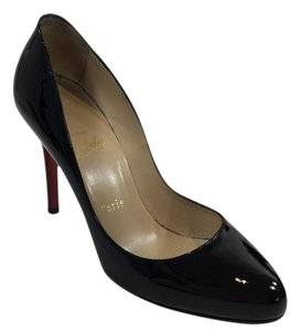 Christian Louboutin 100 Loubitin Black Pumps