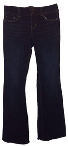 American Eagle Outfitters Stretchy Flare Leg Jeans-Dark Rinse