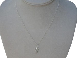 Tiffany & Co. sterling silver Paloma Picasso mini loving heart pendant necklace 16