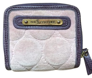Juicy Couture Violet Velvet Tri-fold wallet