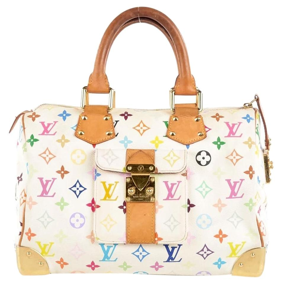 7dfd61e3e4dc Louis Vuitton Bags Speedy 30 Murakami Speedy 30 Monogram Neverfull Lv M92643  Satchel in Multicolor Image ...