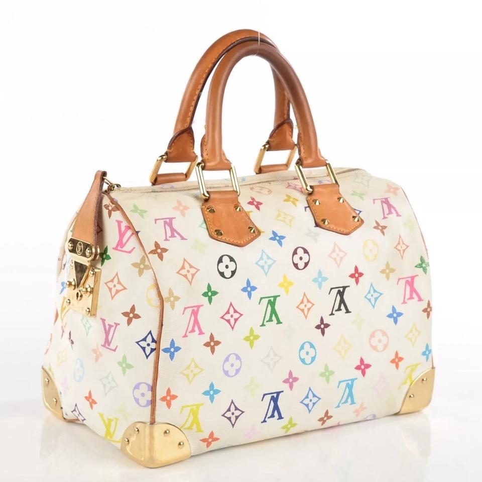 3caad003c7c8 Louis Vuitton Bags Speedy 30 Murakami Speedy 30 Monogram Neverfull Lv M92643  Satchel in Multicolor Image. 12345678910
