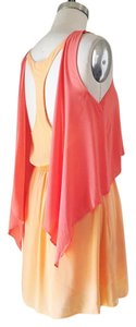 BCBGeneration short dress Orange Racerback Summer on Tradesy