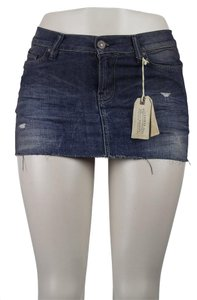 AllSaints Mini Skirt blue
